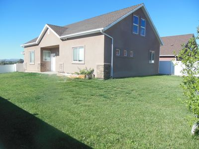 Fully enclosed, spacious yard for peace of mind for your children and pets.