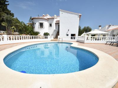 Photo for Fantastic villa in Oliva, great view of the mountains & private swimming pool