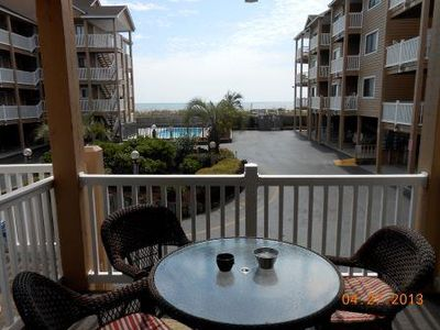 Photo for Ocean Front 2 Bedroom Beach Condo With 2 Pools And Free WiFi
