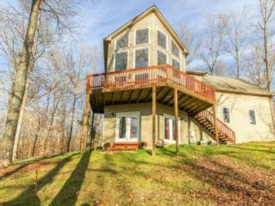 Photo for Private Hilltop Wooded Setting