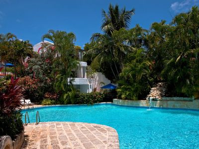Photo for Gingerbread at Merlin Bay Barbados - 3 bedroom villa with Stunning Communal Pool