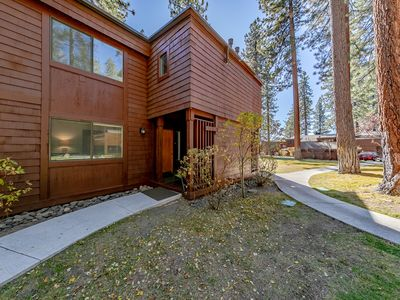 Photo for #85. Private gated community on Lake Tahoe. 3 bedroom Town home w/private beach.