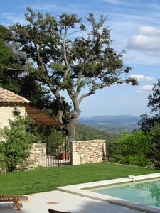 Photo for Large stone mas with swimming-pool located in southern Provence, Luberon