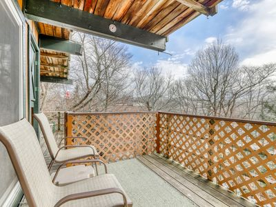 Photo for Ski-in/ski-out condo with shared tennis courts and views of the slopes!