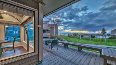 Photo for Live large in this spacious townhome with stunning lake view