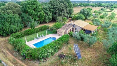 Photo for Higuera - cottage with pool near Búger
