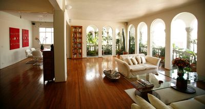 Open-plan living room