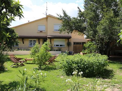 Photo for Cozy villa with heated pool in large park, 4/5 bedrooms