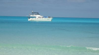 Photo for Yacht Manzy is a spacious and beautiful 50 ft. Luxury Power Catamaran.