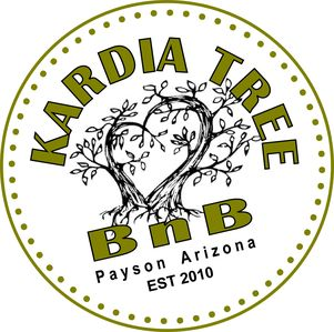 Kardia Tree BnB in the hub of Arizona...the heart of it all.