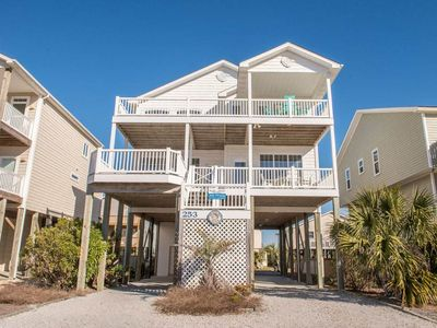 """Photo for Ocean View Home """"Peace of Mind"""" Just steps from the beach"""