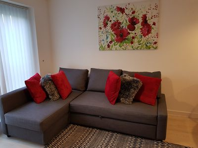 Photo for Cosy and beautiful 2 bedroom 2 bathroom apartment in the heart of town