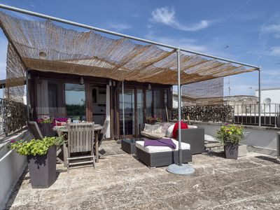 Photo for Stylish accommodation with roof terrace - La Loggia di Nonna Olga