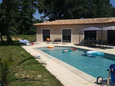 """Photo for Villa """"Lou Ker"""" with quiet pool for 2 families"""