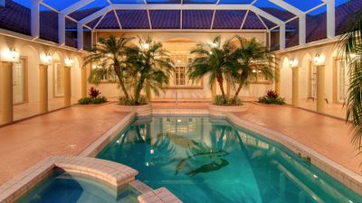 Resort Size Pool and Hot Tub (Pool Heat Optional Add On at Booking); Lounging and Seating for 20! Western Exposure Featuring Perfect Sunset Views!