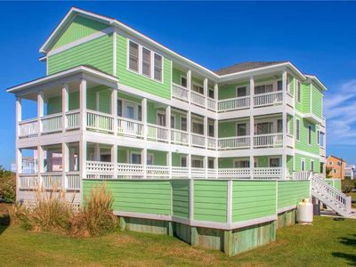 Photo for Stress-Free Oceanview Estate-Pool, Hot Tub, Dog-Friendly, Game Room, Pier Passes