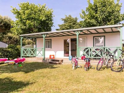Photo for Camping Le Pin Parasol ***** - 3 Rooms Chalet 5 People - 3 flowers ***
