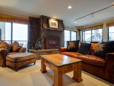 Photo for Huge Deck w Views of Valley & Ski Mtn, Hot Tubs, Shuttle - Discounted Lift Tickets Available
