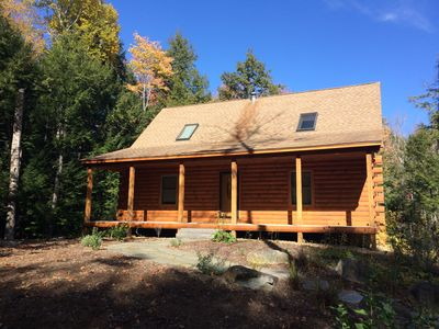 Photo for Log Cabin Suissevale Beach Access Home