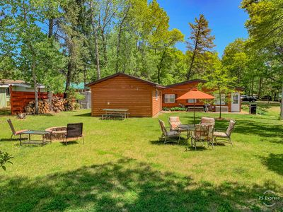 Photo for NEW! 2BR Breezy Point Cabin ✦ Walking Distance from Everything ✦