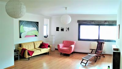 Photo for Charming Duplex Apt in Central Lisbon - Wifi & Lift