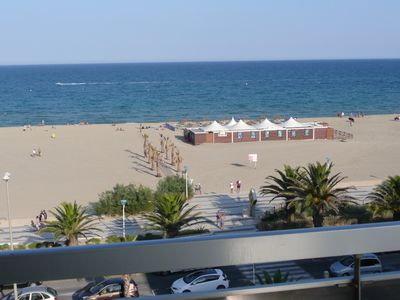 Photo for Apartment T 3 in Canet Plage exceptional sea and mountain label