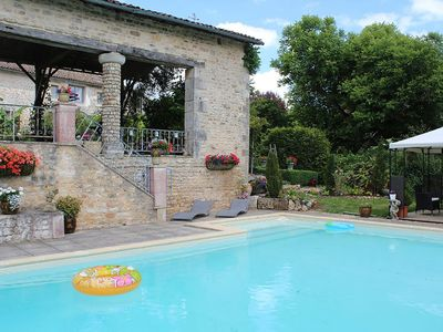 Photo for Wonderful house full of charm with private pool and Moroccan sitting room.