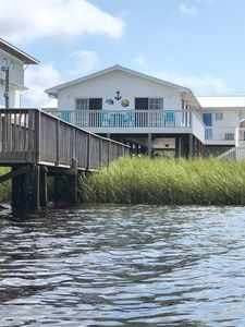 View of house from water