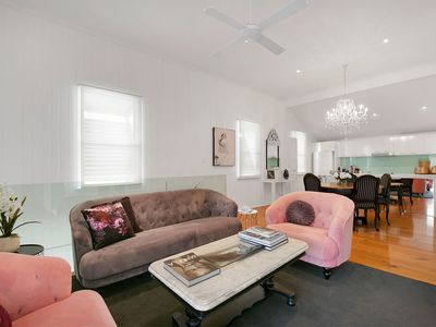 Photo for Luxury House in the James St precinct - up to 6 Guests. Air-con, Wifi, Netflix.