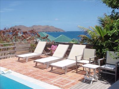 Pool Deck and Seaview