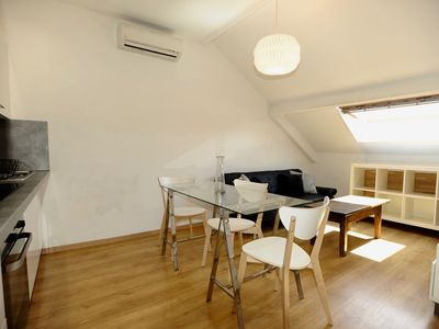 Photo for Very cosy one bedroom attic in the center of Nice