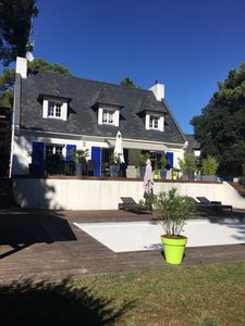 Photo for VILLA WITH PRIVATE SWIMMING POOL AND BEACH 300 meters