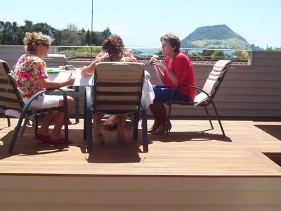 Photo for Bureta Beauty / Prime Spot / Modern / Great View of Water and Mt Maunganui