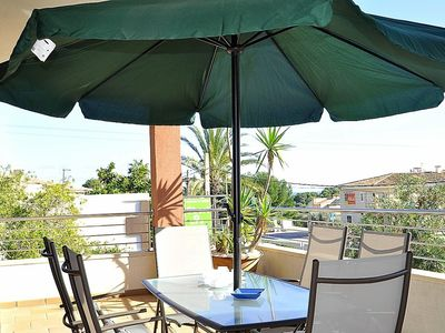 Photo for CASA LAS COLUMNAS- Chalet in Cala Ratjada, ideal for families. Private pool. Sat TV. A/C - Free Wifi
