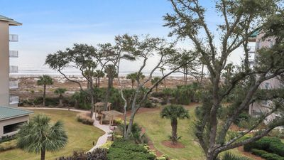 Photo for 10% off Rental Rate for 7/25 - 8/1/2020 - Sanitized for Your Safety this Wonderful 5401 Hampton Place is a 1 Bedroom 2 Full Bath Oceanfront Villa in Palmetto Dunes!