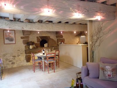 Authentic XVII century bakeplace in your living room