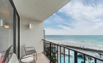 Photo for New Listing! Ocean views for miles @ Edgewater! Close to everything! Free WiFi!