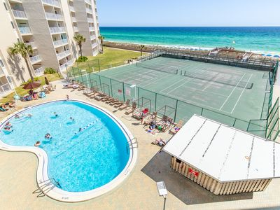 Photo for Hol Surf & Racquet Club 409☀OPEN Apr 21 to 24 $637!☀Gulf Views- Pool + Sauna!