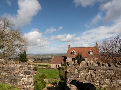 The Farm overlooks Chew Valley - from where you can see four counties