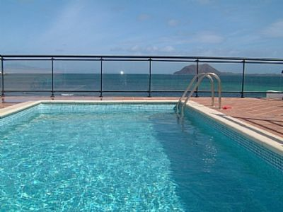 Photo for Lovely Beach Front Villa. PrivatePool,Stunning Sea and Island Views