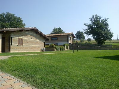 Photo for Delightful Agriturismo near Rome and a stone's throw from Lake Bracciano