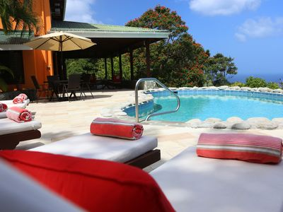 Photo for Ginger Suite at Villa Cybelle with Private parking, veranda & pool access