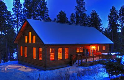 Photo for Secluded Pines Cabin in the Black Hills - Romantic Getaway
