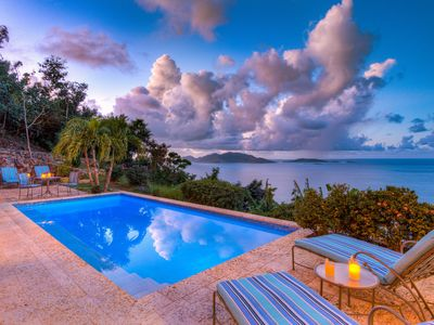 Photo for Azure Vista - 10% discount at relaxing family villa with amazing views and pool