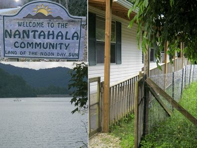 Photo for Nantahala Lake & River, Topton NC. Farm, mountains, fish, raft, hike. Dogs OK.