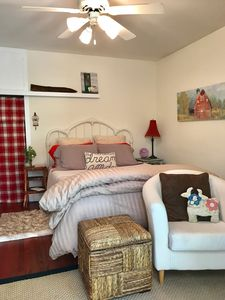 Photo for Private, Self contained 2 Bdrm w/ courtyard, Pool, Hot Tub and Fireside Fun.
