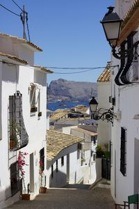 Altea Old Town surrounds the apartment