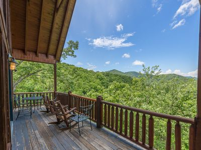 Photo for Shagbark Outdoor Oasis: Stunning Views, Hot Tub, and More!