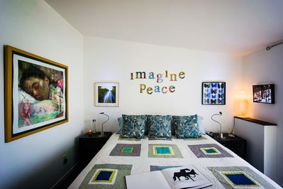 Master Bed-Room with cal/king