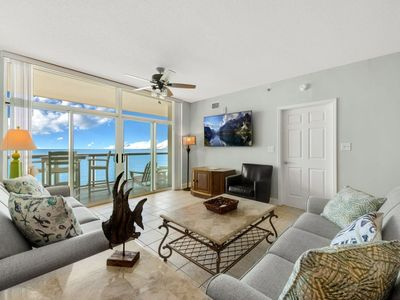 Photo for Stylish 3 bedroom pent house get away! | Blue Water Keyes - PH 3
